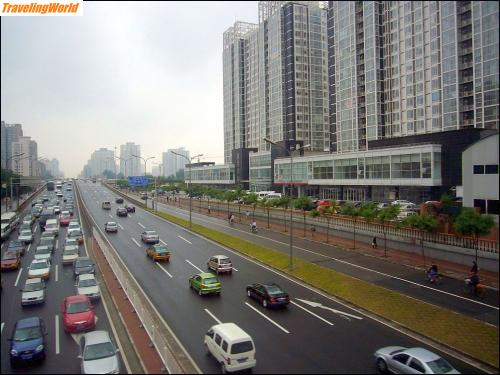 China: 02 b2 Hauptstrasse in Peking /
