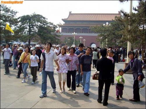China: 04 c2 Am Kaiserpalast /
