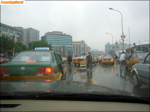 China: 02 a5 Hauptstrasse in Peking /