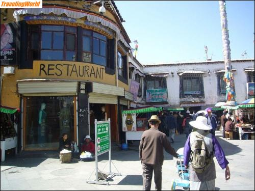 China: 10 m21 In Lhasa /
