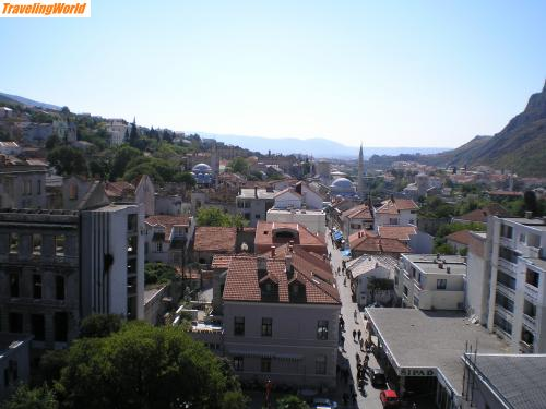Bosnien und Herzegowina: View from Mosque / Mostar